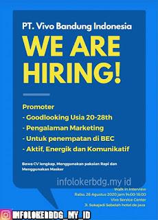 Lowongan Kerja PT. Vivo Indonesia