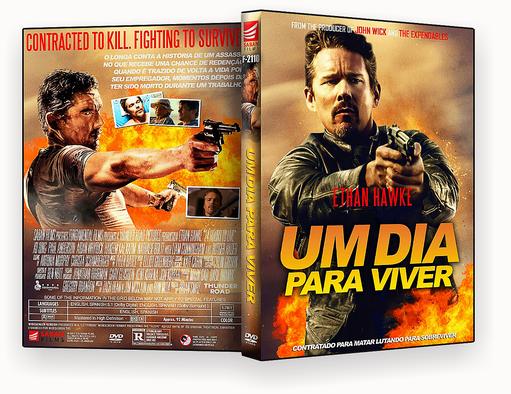 24 Horas Para Viver 2018 Dublado DVD-R – CAPA DVD