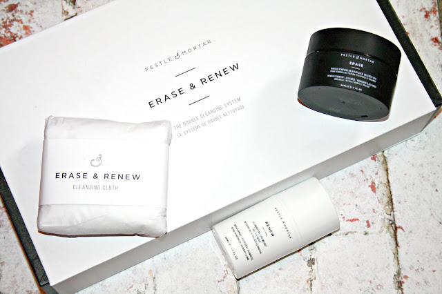 Pestle & Mortar - Erase and Renew products
