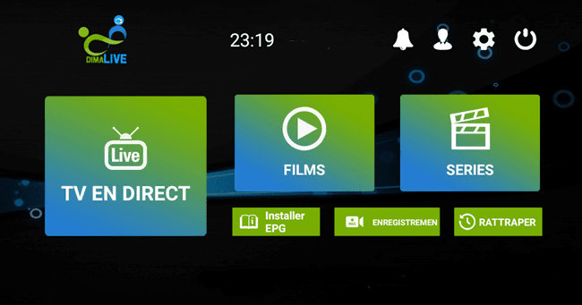 DIMA LIVE IPTV App with 10 activation codes 2021