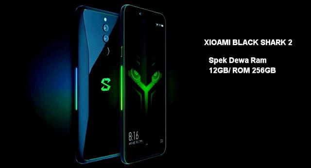 Harga dan Spesifikasi Xioami Black Shark 2