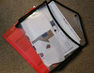 Folders of non-campaign specific paperwork