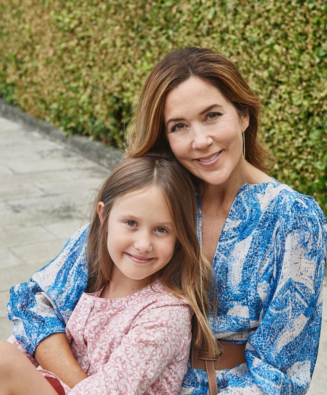 Crown Princess Mary is teaching her youngest daughter Josephine about the importance of International Women's Day