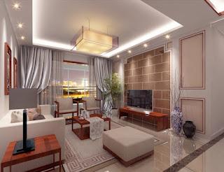 صور ديكور جبس غرفة المعيشة