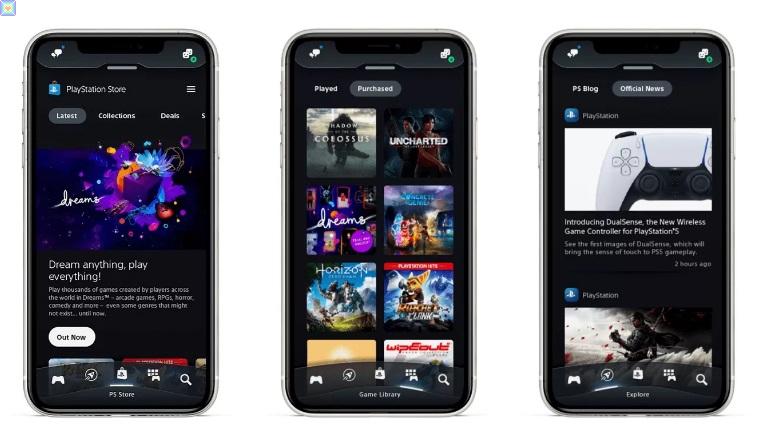 تصدر Sony تطبيق PlayStation المحدث في الوقت المناسب تمامًا لجهاز PS5