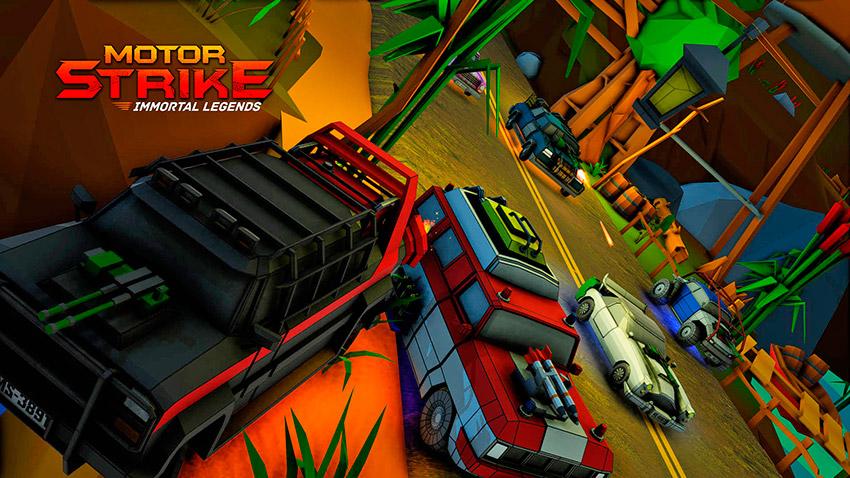 Motor Strike juego para PS4