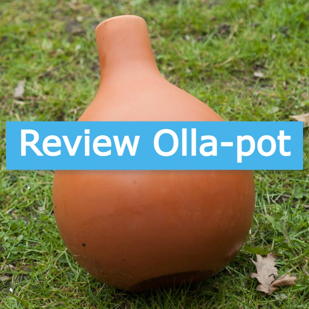 olla pot terracotta water geven moestuin volkstuin ojja