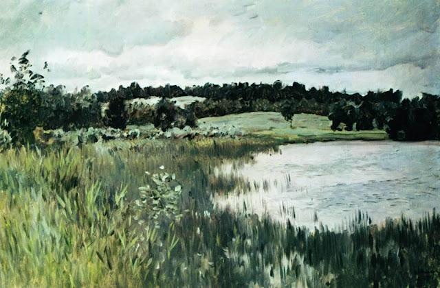 Исаак Ильич Левитан - Серый день. 1895
