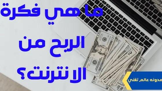 ما هي فكرة الربح من الانترنت؟