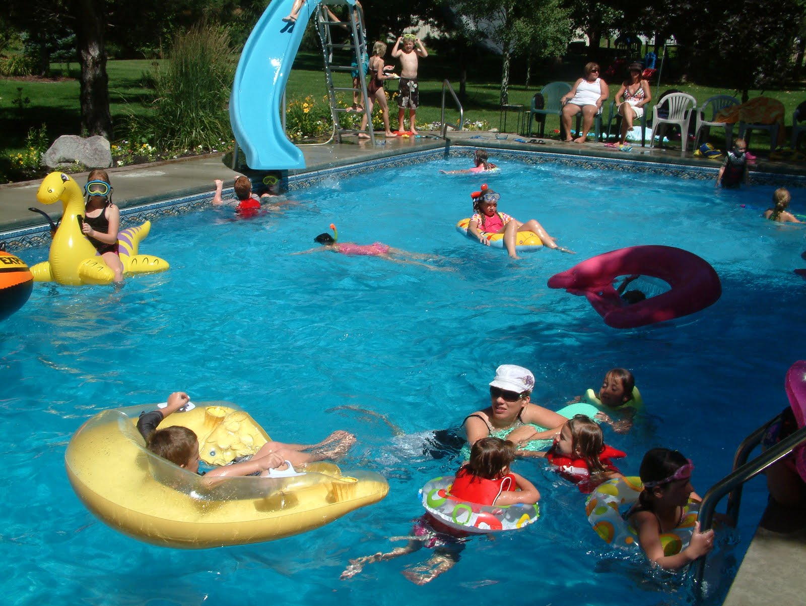 The Ropelato s End Summer Pool Party