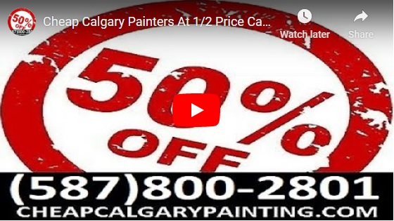 Cheap Calgary Painters - Affordable Cheap Meticulous Professional House Painting & Home Painting