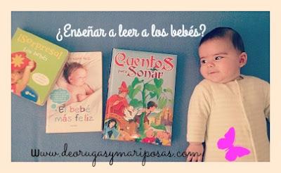 enseñar a leer a los bebes