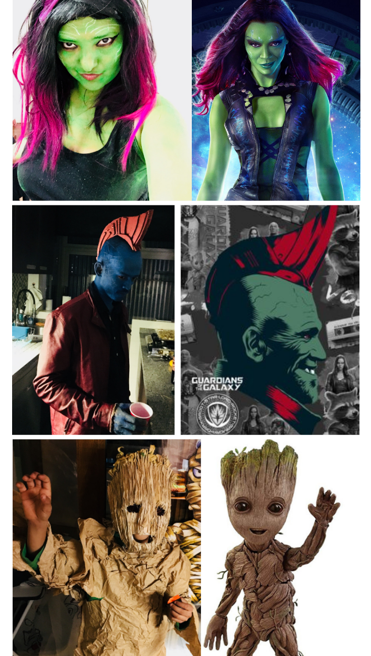 Practical Mom Halloween: DIY Guardians of the Galaxy Costumes