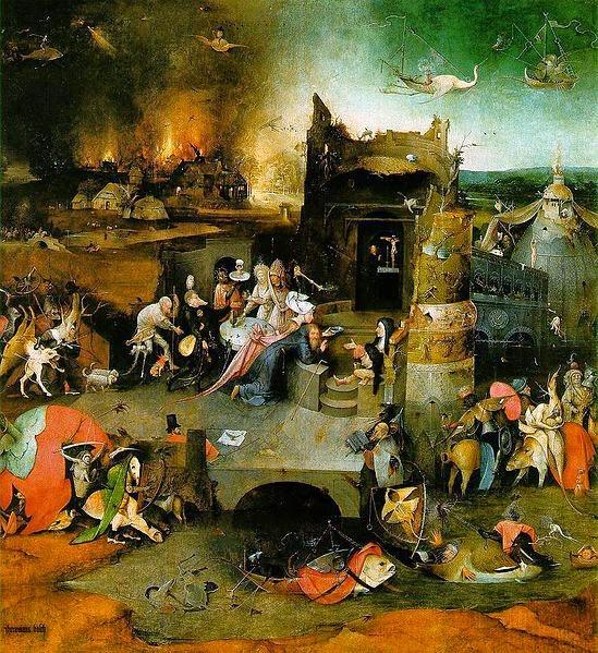 As Tentações de Santo Antônio - Bosch, Hieronymus e suas principais pinturas