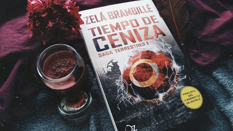 Foto del libro Tiempo de ceniza de la autora Zela Brambille