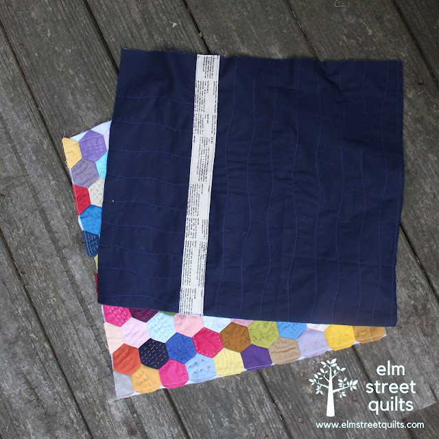 elm street quilts pillow back tutorial