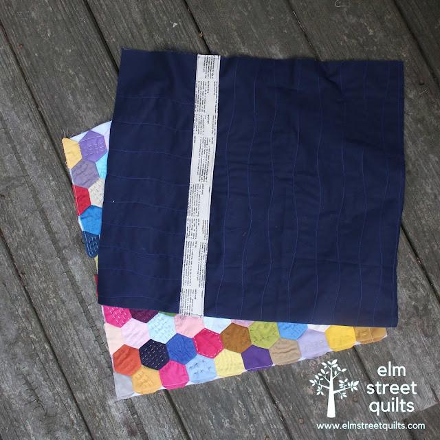 elm street quilts pillow back tutorial