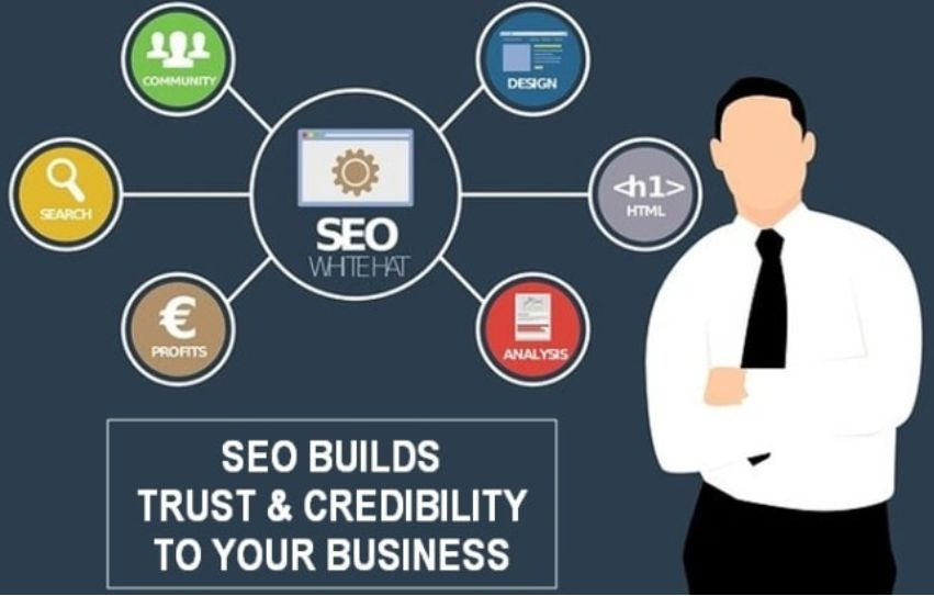 You can build trust and credibility of your brand with SEO
