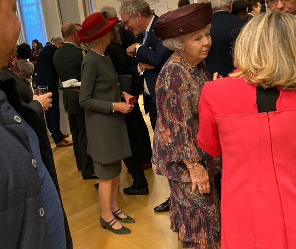 Princess Beatrix attended a symposium held on the occasion of Kingdom Day at the Council of State in The Hague