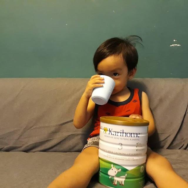 Susu Karihome Membantu Meningkat Perkembangan Sistem Imun Kanak-Kanak.