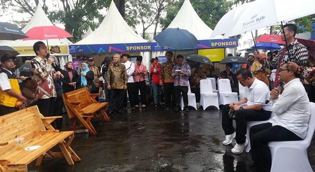 Edhy Prabowo di West Java Festival 2019, Gelar Forum Curhat Nelayan