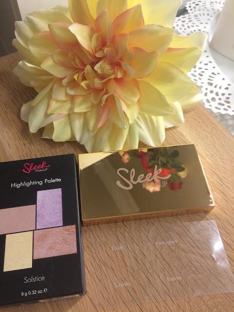 Sleek Solstice Palette Aydınlatıcı Makyaj Paleti - İncelemesi ve Yorumlar