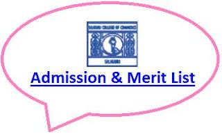 Siliguri Commerce College Merit List