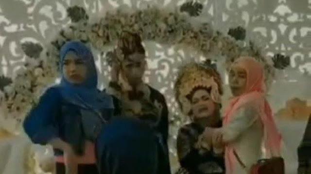 Geger, Mempelai Perempuan Menangis Histeris Meronta-ronta Saat Mantan Pacar Datang ke Pesta