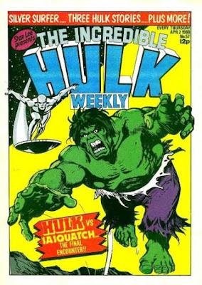 Incredible Hulk Weekly #57, Silver Surfer