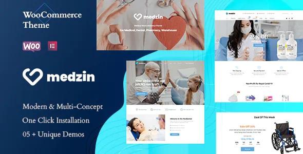 Best Multipurpose Medical WooCommerce WordPress Theme