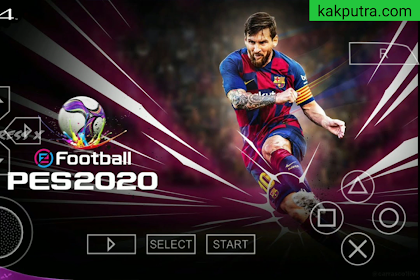 (BARU) PES 2020 PPSSPP Camera PS4 Android Offline Best Graphics New Kits 2020 & Transfers Update