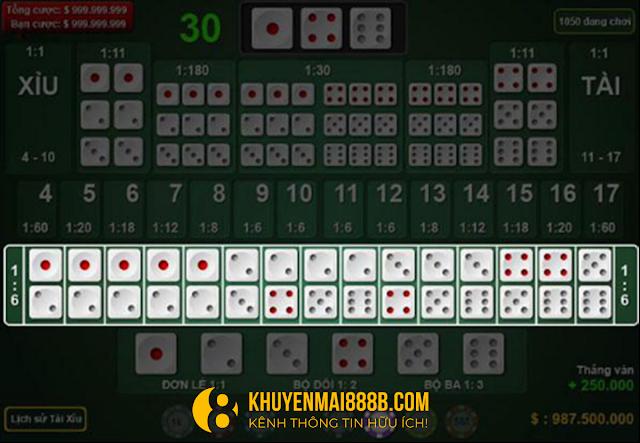 hướng dẫn chơi trò chơi sicbo game bài nhà cái 888b