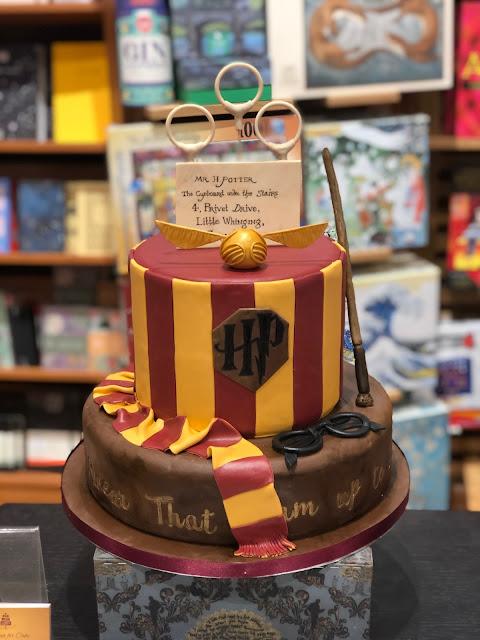 Harry Potter, Chez Maximka, Gryffindor cake