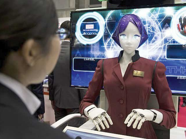 The Olympics; Preparing Robots to speak different languages for the guests