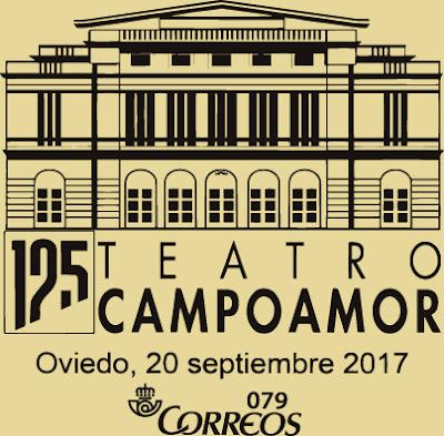 Matasellos Teatro Campoamor de Oviedo
