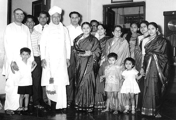 Sarvepalli Radhakrishnan family