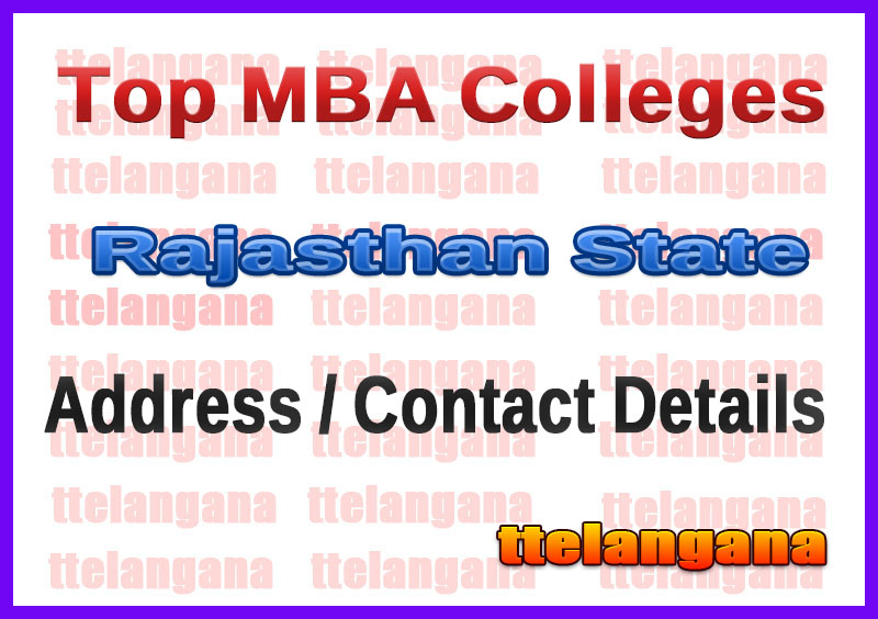 Top MBA Colleges in Rajasthan