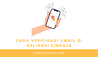 Cara Verifikasi Email di Aplikasi LinkAja