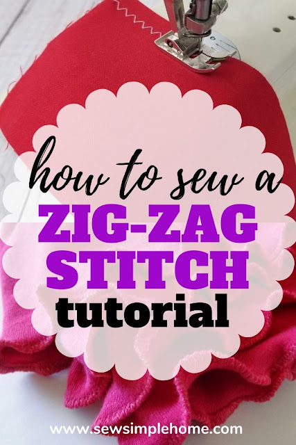 Learn how to sew a zig zag stitch and why you might use one.