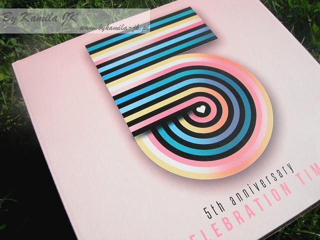 Shiny Box 5th Anniversary Celebration Time Edycja urodzinowa czerwiec 2017