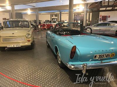 Museo de Historia de la Automoción deportivos y algo más