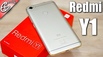 Xiaomi Redmi Y1 (16MP Selfie Camera | SD435 | FP Scanner) – Unboxing & Benchmarks! |Tamil
