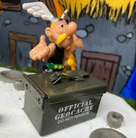 Asterix en de verborgen geocaches wandel- en fietsrondje hitland