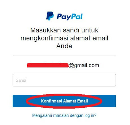 Cara Daftar Paypal Langkah 9