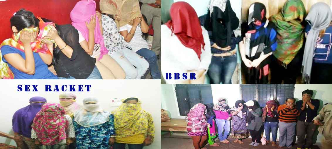 High Profile Sex Racket Busted In Nayapalli Bhuneswar.