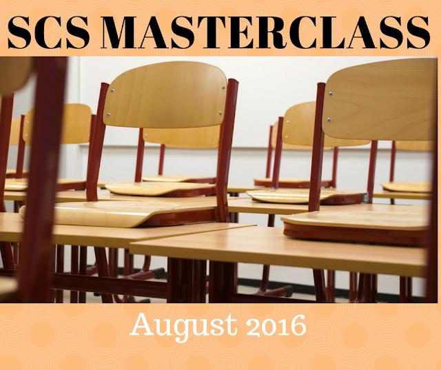 SCS Masterclass August 2016 - Strategic Case Study - CIMA