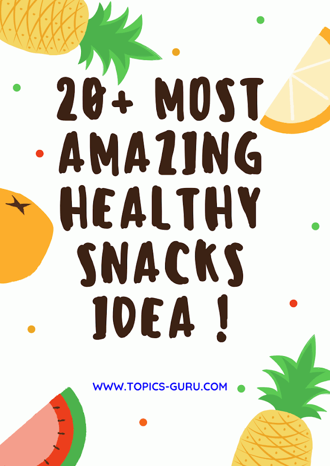 20+ Most Amazing Healthy Snacks Idea Changing How We See The World