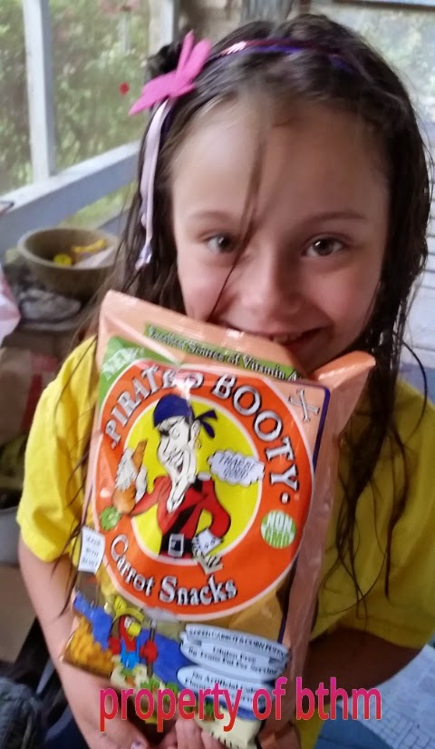 miss grace and pirates booty carrot snacks