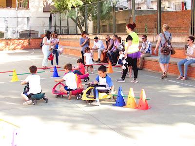minicoches Colegio Maria Auxiliadora. Zaragoza