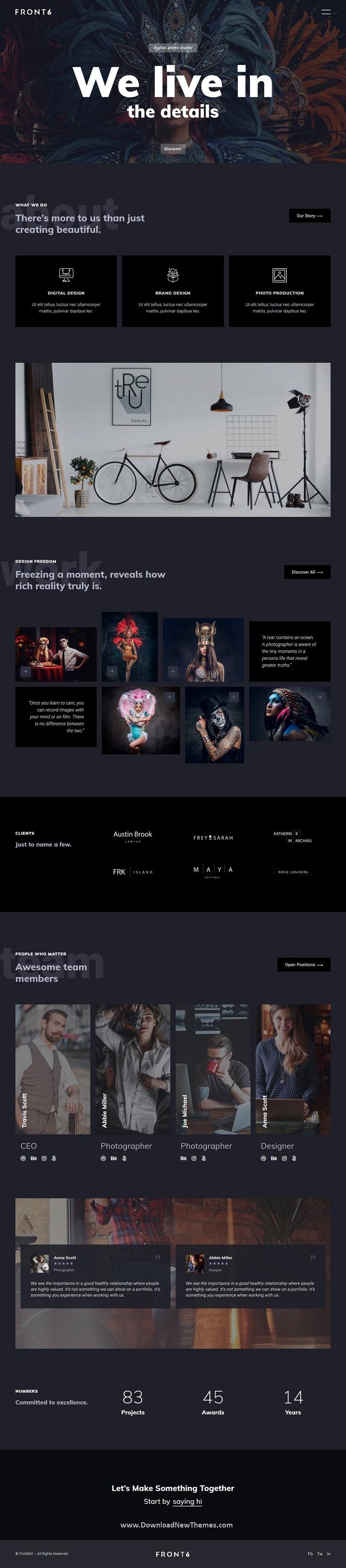 Creative Photography Template Kit